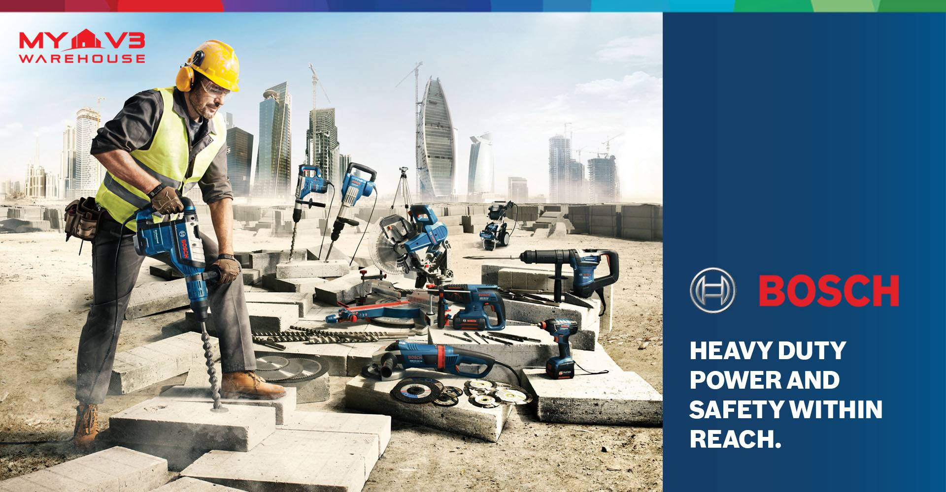 Bosch Heavy Duty Power and Safety