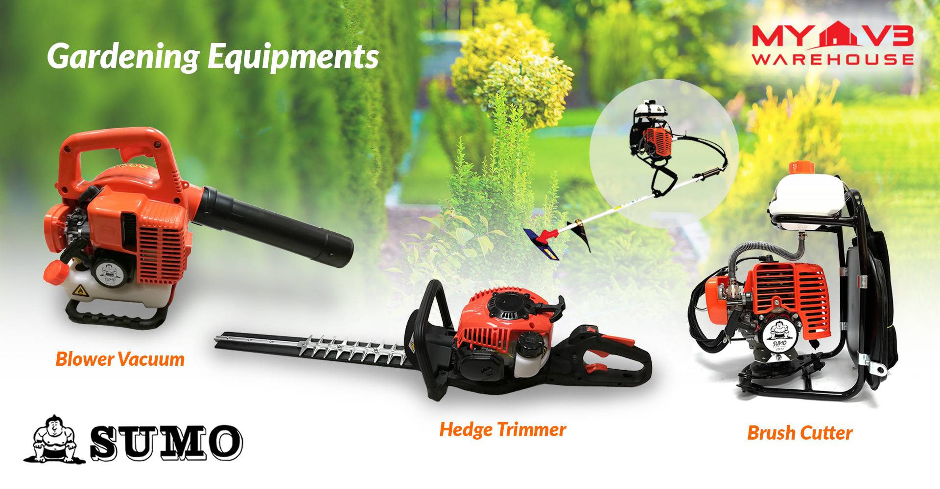 SUMO Gardening Equipment