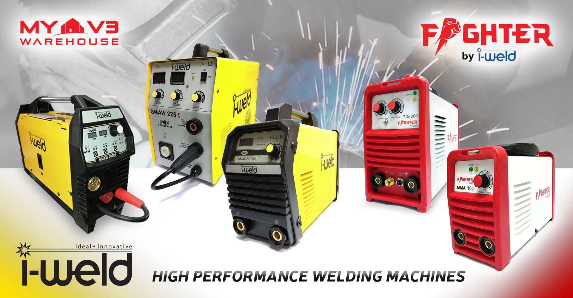 i-Weld and Fighter Welding Machines
